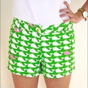 Macbeth collection whale printed shorts small